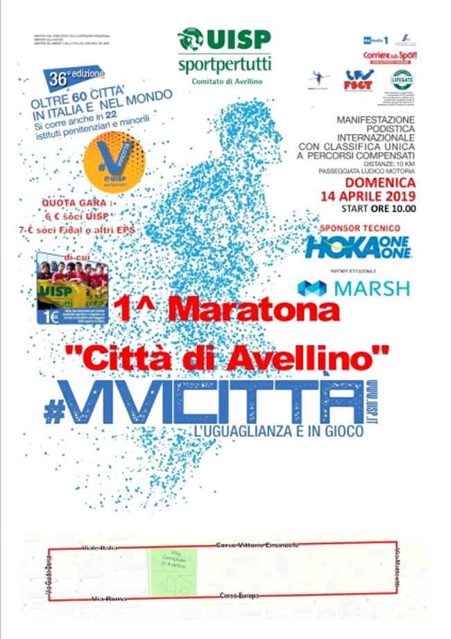 Maratona di Avellino 2019 vivi città