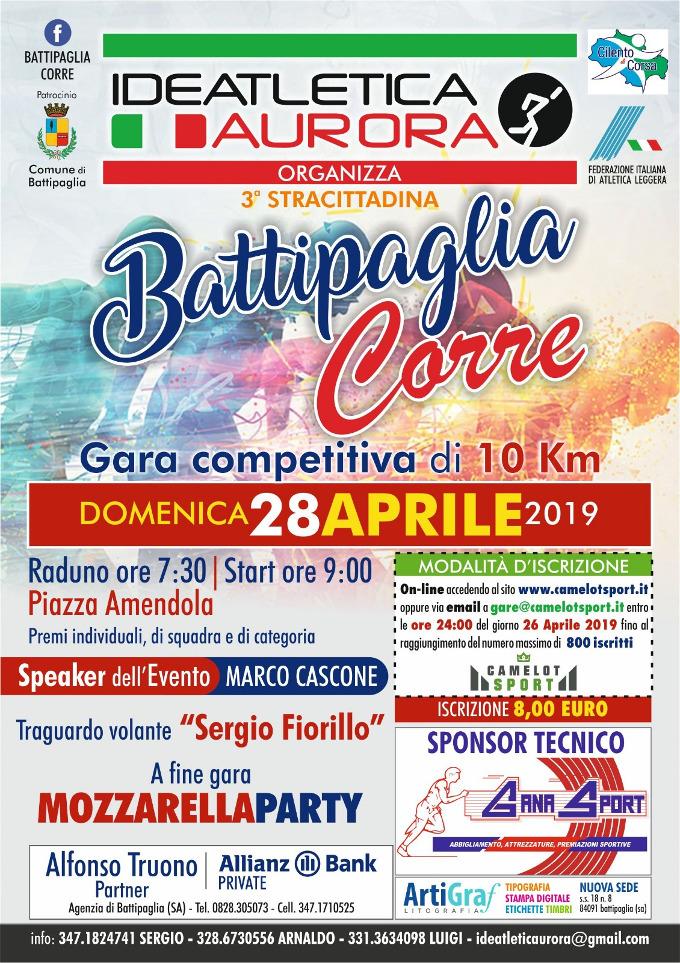 Battipaglia Corre 2019 gara podistica