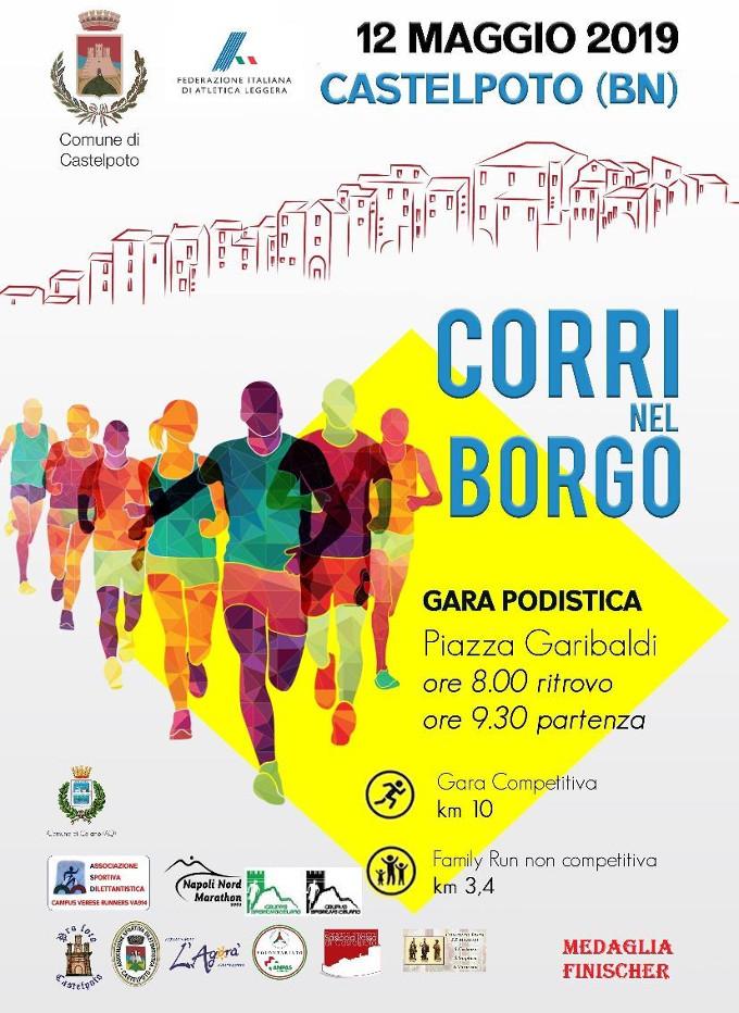 Corri nel Borgo 2019 gara di Castelpoto