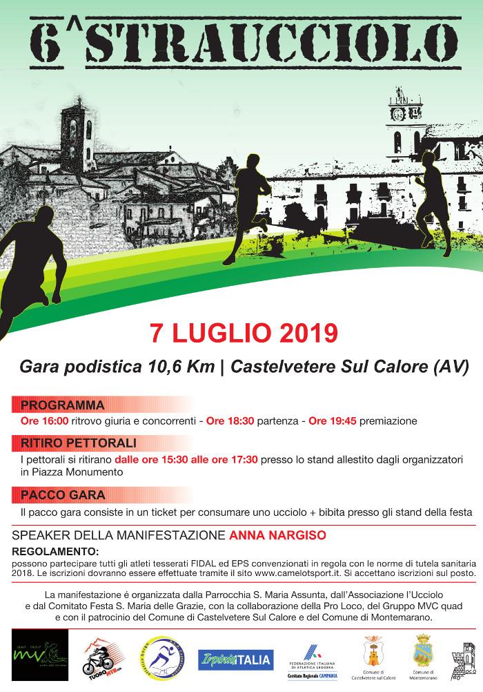 Straucciolo 2019 gara Castelvetere sul Calore