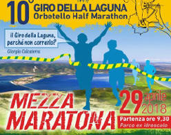 Orbetello Half Marathon 2018