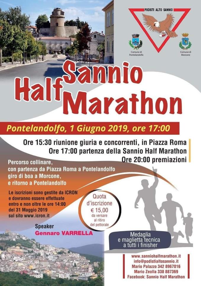Sannio Half Marathon 2019 mezzamaratona