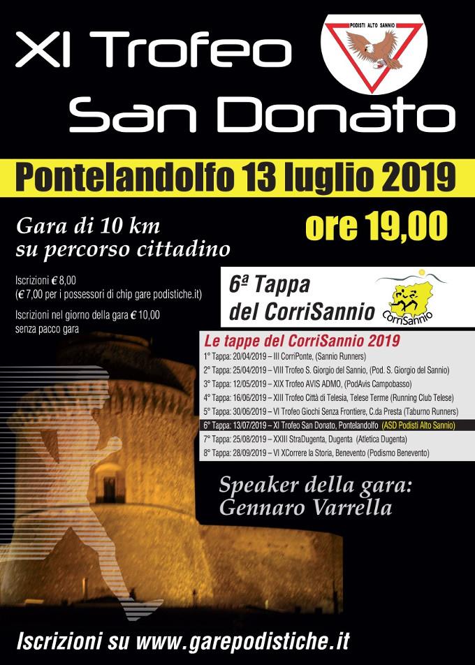 Trofeo San Donato 2019 gara di Pontelandolfo