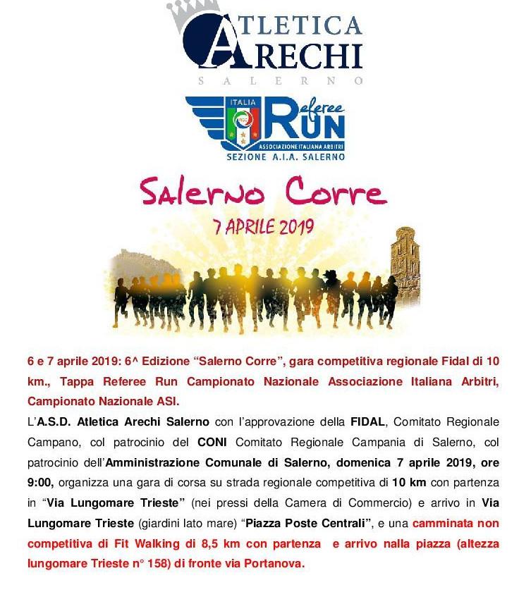 Salerno Corre 2018 gara podistica