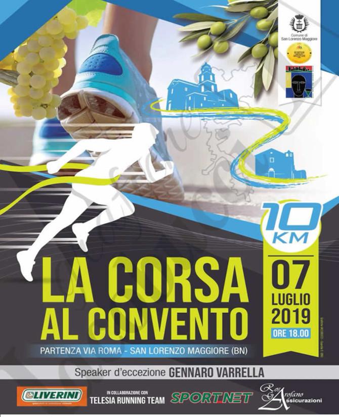 La Corsa al Convento 2019 gara di San Lorenzo Maggiore
