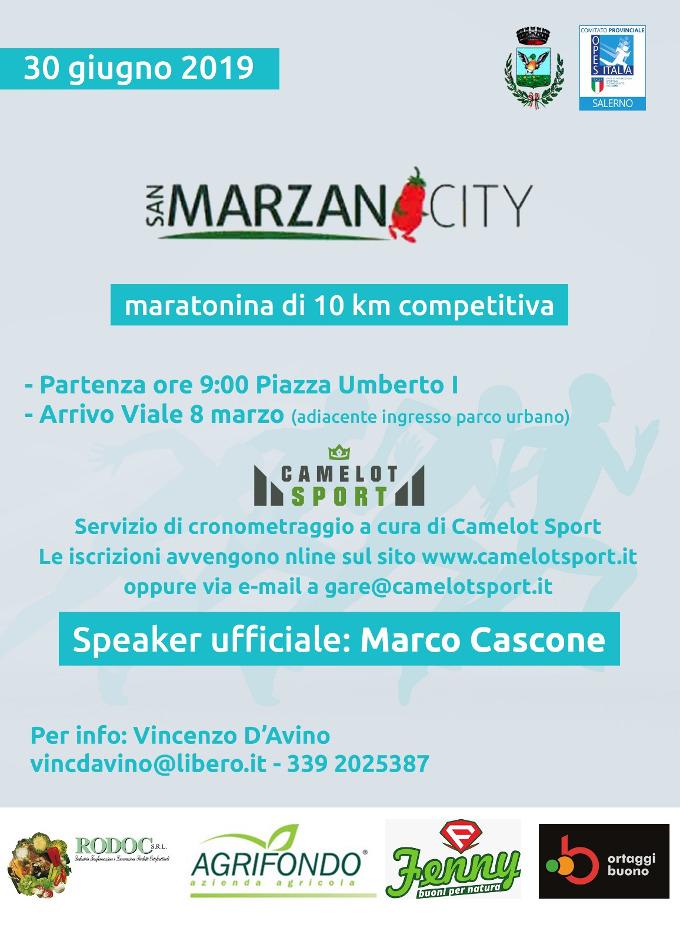 San Marzano City 2019 gara