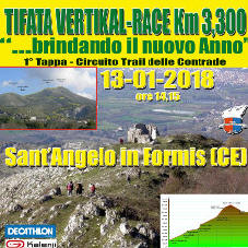 Trail Tifata Vertikal race 2018 Sant'Angelo in Formis