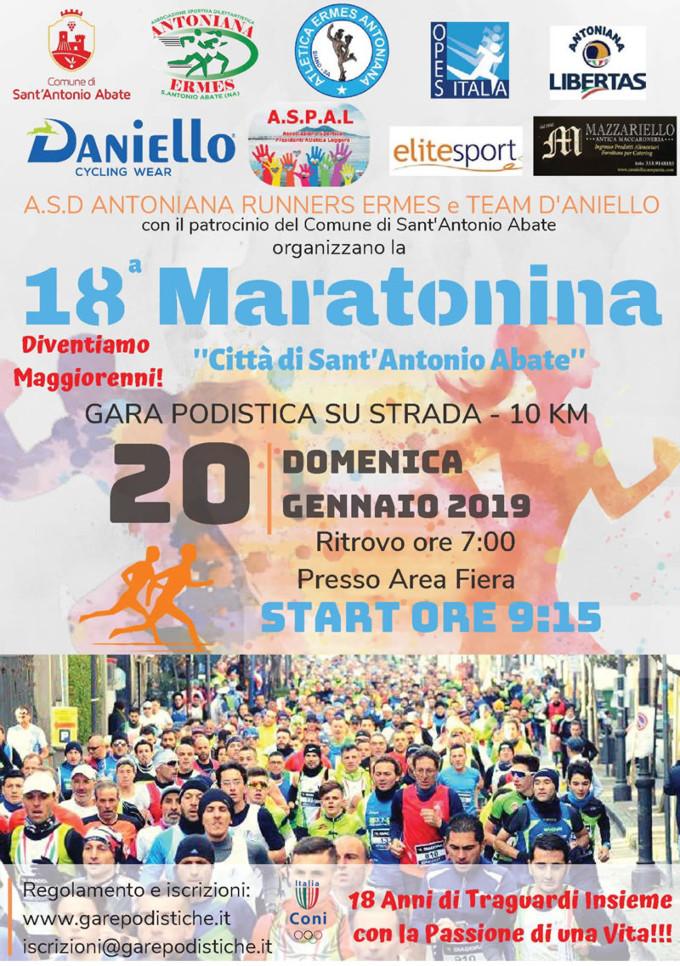 Maratonina Città Sant'Antonio Abate 2019