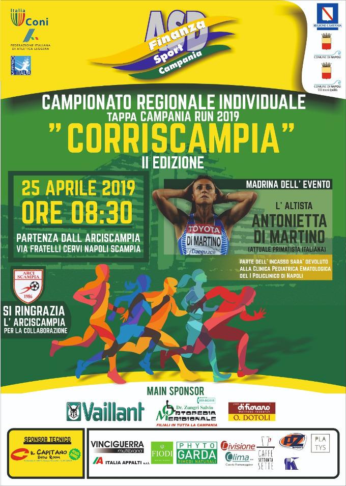 Scampia corriScampia 2019 gara podistica