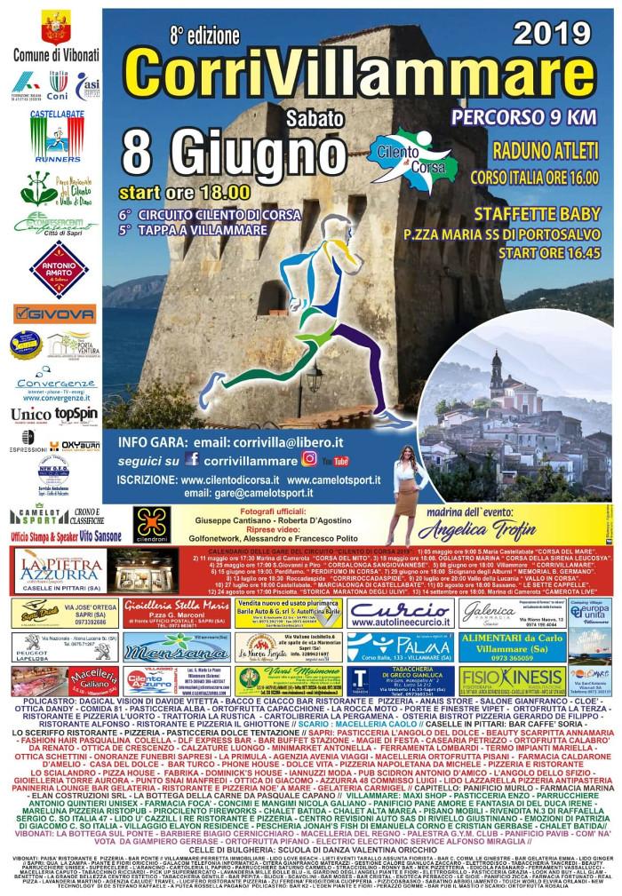 Corri Villammare 2019 gara podistica